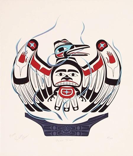 Formlines raven spirit robert hewson for Native american tattoo artist seattle